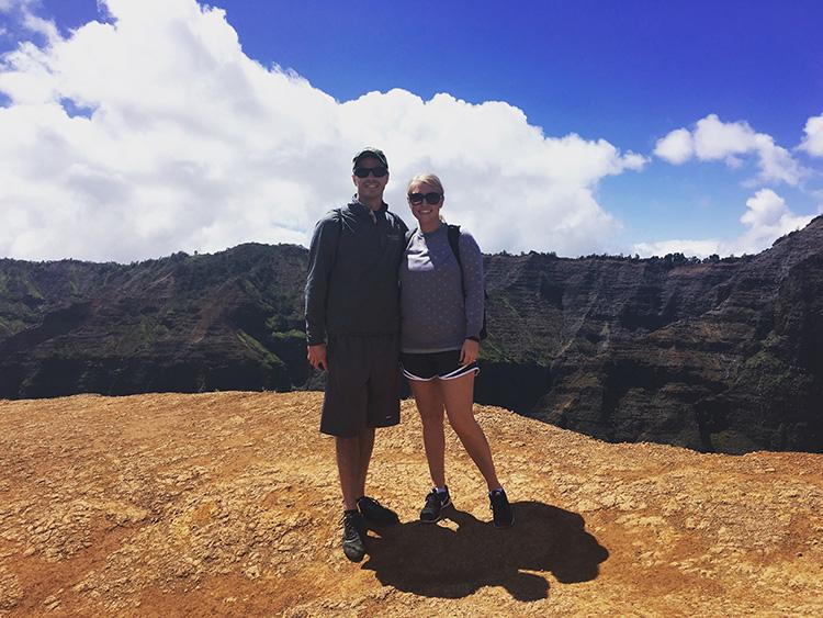 Hiking in Kauai, HI