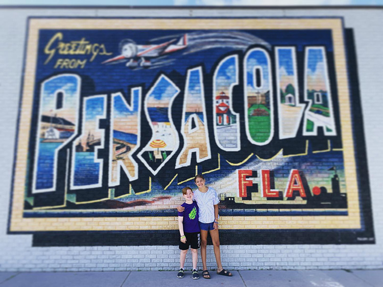 My Kids in Pensacola Beach Florida